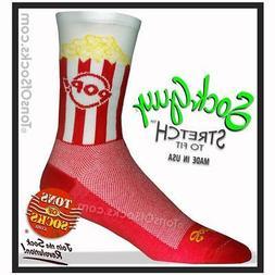 SockGuy Popcorn Performance Crew Socks
