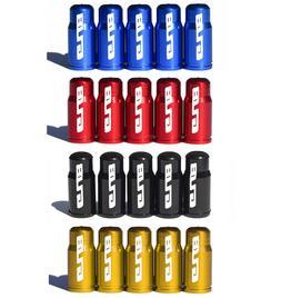 GUB Presta Valve Caps - Aluminum - for Road Bike Tubes - All