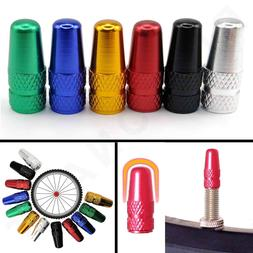 Presta Valve Caps Bicycle Bikes Tires Tube Multi Colors Quan