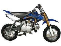 Coolster QG-210 70cc Dirt Bike Blue