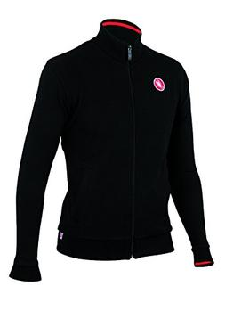 Castelli Race Day Track Jacket Black, Small - Men's