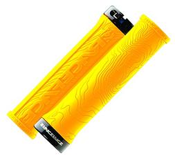 Race Face Half Nelson Locking Bike Grips, Yellow