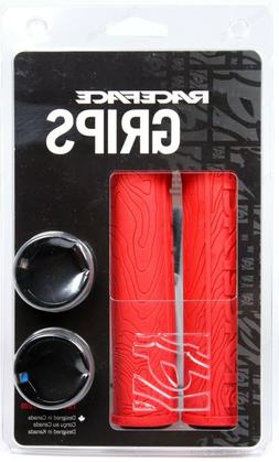 Race Face Half Nelson Locking Grip, Red