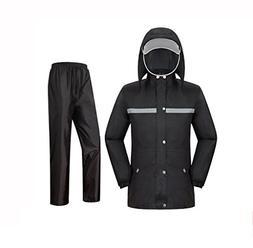 raincoat mens Raincoat Rain Pants Suit Waterproof Full Body