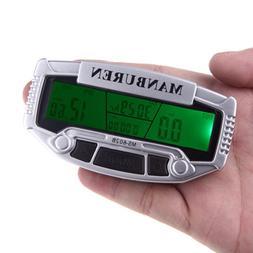 EverTrust Rainproof Import Sensors LCD Backlit Bicycle Compu
