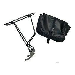 Minoura RC-1000 w/ Ostrich Bag - Bike Rack / Pannier Made in
