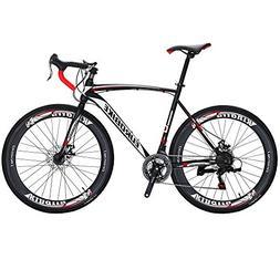 EUROBIKE Road Bike XC550 21 Speed 54 Cm Frame 700C Wheels Ro