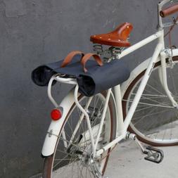 Tourbon Roll-up Bike Pannier Waterproof Canvas Bicycle Rear