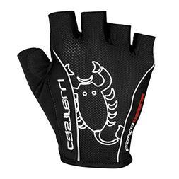 Men's Castelli Rossa Corsa Classic Cycling Glove-Black-US SI