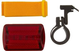 SE - Safety Light - Flasher with Bicycle Attachment, Red, 6