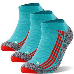 No Show Running Socks, LANUDNCIGIA Ankle Hidden Travel Compr