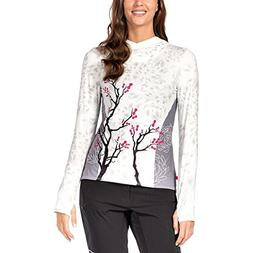 Terry Bicycles Soleil Hoodie - Women's Chain Blossom-White,