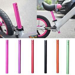Solid Kids Bike Seat Post Balance Bicycle Seatpost Saddle Tu