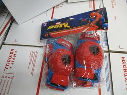 Bell Sports Spider-Man Elbow, Knee Pad and Glove Set - Red a