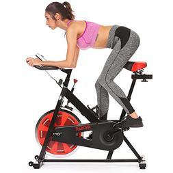 Bellar Sport Spin Bike, Belt Drive Indoor Cycling Bike Exerc