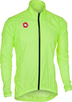 Castelli Squadra ER Jacket - Men's Yellow Fluo, 3XL