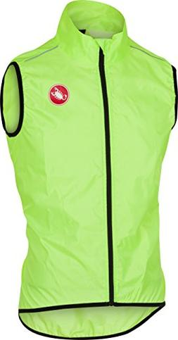 Castelli Squadra Vest - Men's Yellow Fluo, XL