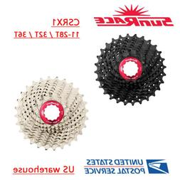 SunRace CSRX1 11 Speed Road Bike Cassette 28/32/36T Black Si