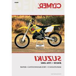 96-00 SUZUKI RM250: Clymer Service Manual