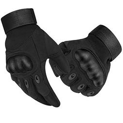 accmor Tactical Military Hard Knuckle Gloves/Motorcycle Glov