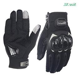 Sourcingbay Tech Touch Gloves Motorcycle Full Finger Riding