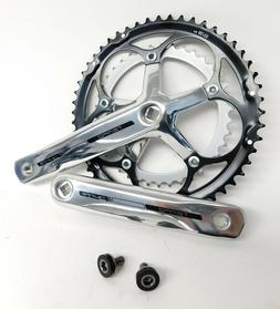 FSA Tempo 9 Speed 53/39 Road Crankset Silver/Polished 170mm