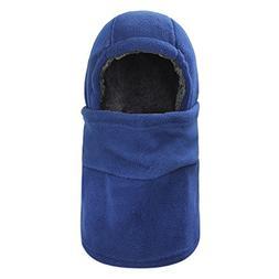 Thermal Thick Fleece Balaclava Winter Warm Hoodie Hat Full F