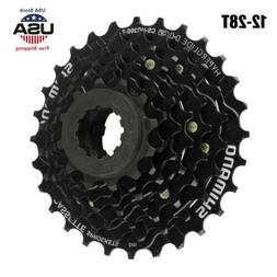 Bicycle 7-Speed Freewheel Cassette Sprocket 12-28T for MTB R