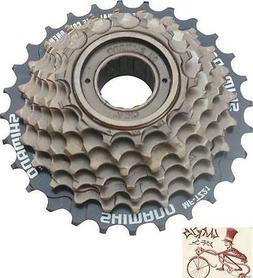 Shimano 7-Speed Tourney Bicycle Freewheel Replacement Cluste