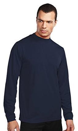 Tri Mountain Easy Care Polyester Turtleneck Shirt. 658