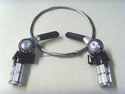 microSHIFT TT Bar End Shifters BS-A09 2 x 9 / 3 x 9 speed Co