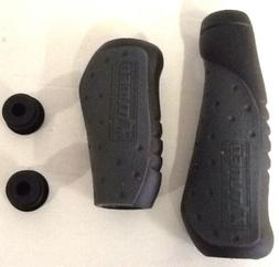 TUNED ENGONOMIC COMPONENTS BLACK BICYCLE HANDLEBAR GRIPS BIK