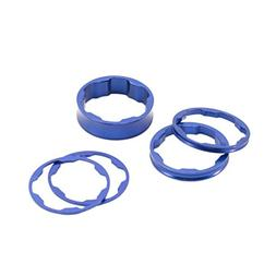 "BOX COMPONENTS Box Two Stem Spacer 1"" 10, 5, 3, 1 Mm Blue"