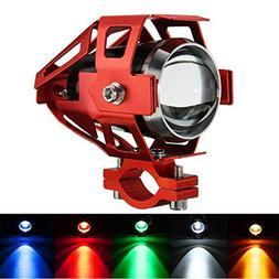 CoCocina 12V-80V U5 LED Motorcycle Headlight Driving Fog Lam