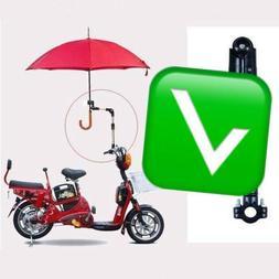 Moped Bike Bicycle Mount Holder For Sunny RaIn Umbrella ED