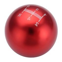 CoCocina Universal 5 Speed Aluminum Round Ball Racing Car Ma