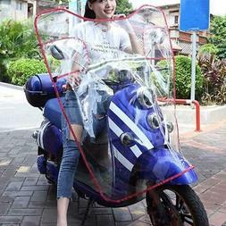 Universal Motorbike Outdoor Windproof Windshield Transparent