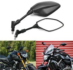 MZS Motorcycle Mirrors Rear View 8MM 10MM Universal for Hond