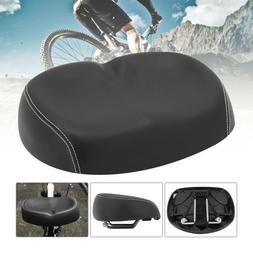 US Big Ass Bicycle Bike Cycling Noseless Saddle Wide Large S