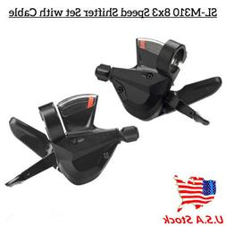 USA 3x8 Speed Shift Lever Shifter Bike Bicycle Parts for Shi