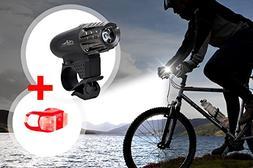 ZipBike - Premium USB Rechargeable Bike Flashlight Top Power