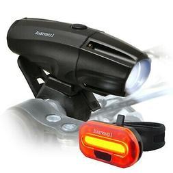 Lumintrail USB Rechargeable 1000 Lumen LED Bike Light Headli