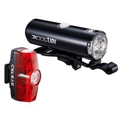 CAT EYE - Volt 200 XC Rechargeable Headlight and Rapid Mini