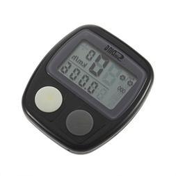 Waterproof Digital LCD Bike Computer Cycle Bicycle Speedomet