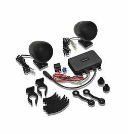 Big Bike Parts Waterproof Bluetooth Sound System Complete wi