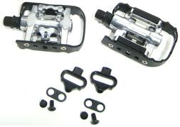 Wellgo C002 Bike Pedals fits Shimano SPD 1 side Clipless / 1