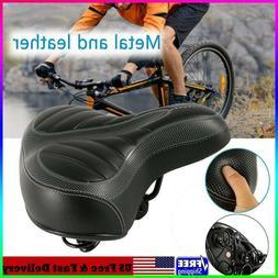 Wide Bike Bicycle Sport Soft Pad Saddle Seat Comfort Big Bum