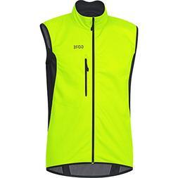 GORE WEAR Men's Windproof Cycling Vest, C3 WINDSTOPPER Vest,
