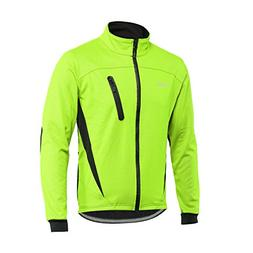 ARSUXEO Winter Warm UP Thermal Fleece Cycling Jacket Windpro