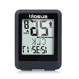 SUAOKI Wireless Bike Computer Bicycle Speedometer Bike Odome